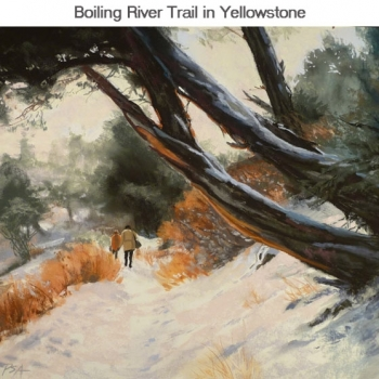 Boiling-River-Trail-in-Yellowstone