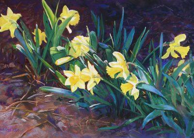Carol Schloss Pastels Sonata in Gold